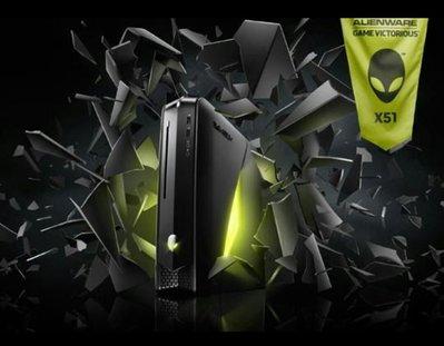 Alienware X51 Intel H61, i5 3.1Ghz DDR3 8Gb, Nvidia GeForce, HD 1Tb, DB 燒錄,再減價。