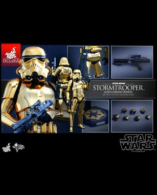 100%全新膠袋未開 hottoys star wars stormtrooper  金兵 mms364