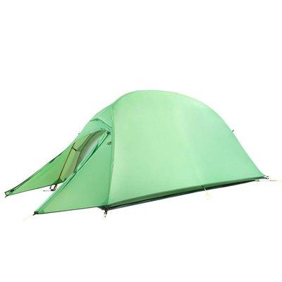 雲尚 210T 格子布 雙人帳篷 超輕量化全鋁合金 2人帳篷