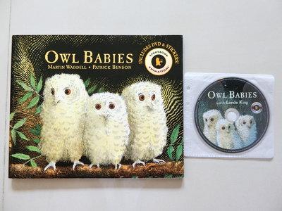 【廖彩杏老師推薦,Candlewick Press出版】Owl Babies(+DVD)