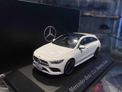 吉華科技@原廠 B66960474 Mercedes-Benz CLA Shooting Brake 2019 1/43