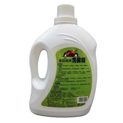 香甜蘋果洗碗精3.5KG團購(6瓶)-高濃縮低泡好沖洗73pp46[獨家代理][米蘭精品]
