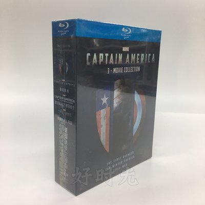 科幻電影 美國隊長Captain America 1-3部合集高清藍光BD收藏碟片