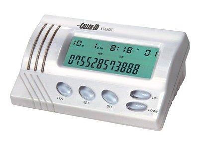 發光提示 來電顯示器,DTMF+FSK雙制式,響鈴燈 來電閃光,100組來電,30組去電記憶 號碼查詢 回撥