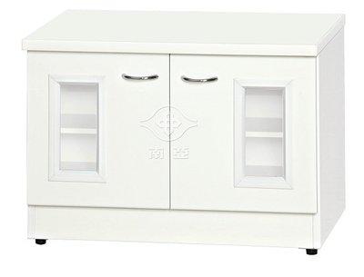 ~南亞塑鋼2.1*1.5尺白色透視開門鞋櫃61R05(可改色,可訂做,品質有保障)~巧匠家具批發廣場~