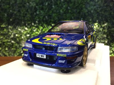 1/18 AUTOart Subaru Impreza WRC 1997 #3 Monte Carlo【MGM】