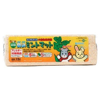 MARUKAN 薄荷防蟲壓縮木屑 小動物木屑 寵物鼠地毯 松樹砂 MR-752(15L)每條90元