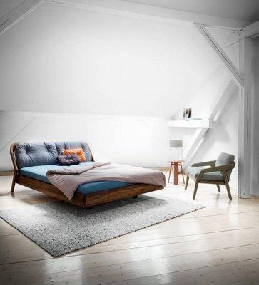 [米蘭諾家具]複刻ZEITRAUM FRIDAY NIGH床台 設計款床台 現代都會實木設 台灣製造 超優質感 超夯家具