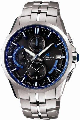 光華.瘋代購 [預購] CASIO OCEANUS OCW-S3000-1AJF 海神 電波錶 太陽能 手表