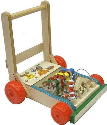 【嬰幼兒用品出租】木製安全兒童學步助步車