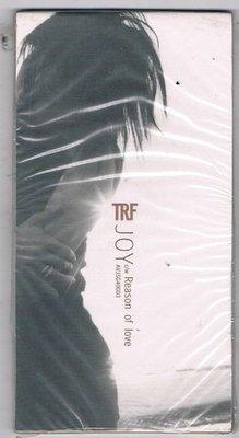[鑫隆音樂]日語3吋單曲-TRF :JOY C/W Reason of love {AVJSG40003} 全新