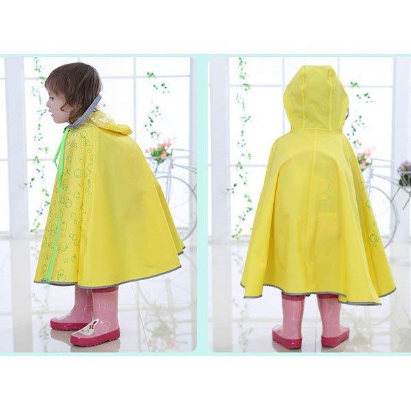 5Cgo【鴿樓】會員有優惠 522005371547 兒童雨衣大帽沿韓版雨披寶寶小孩男女童戶外防雨 雨衣