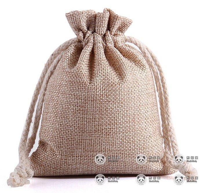麻布袋 小束口袋  拉繩袋 布袋 束口袋 口棉袋 束口 米袋 水玻璃 矽膠乾燥劑 除濕包 分裝 可用 禮物 包裝袋 包裝