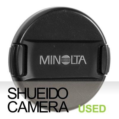 集英堂写真機【全國免運】中古良上品 MINOLTA LF-1162 62mm 原廠鏡頭前蓋 #244 19675