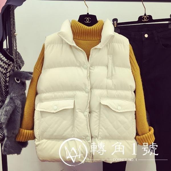 2018新款棉馬甲女秋冬季韓版  初服