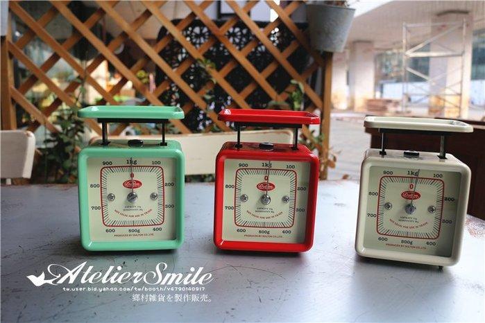 [ Atelier Smile ]  鄉村雜貨 日本直送 DULTON 金屬機械 彈簧秤 料理秤 烘焙秤 (預購)