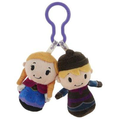 預購 美國 Hallmark Frozen Anna and Kristoff 安娜 包包掛飾 娃娃 吊飾 療癒小物