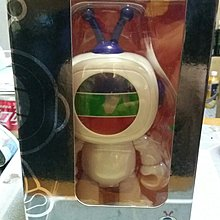 TVB 8吋高 Buddy 公仔一個連盒(有瑕疵)面部有少許色甩掉,只賣藍色天線,紅色已售