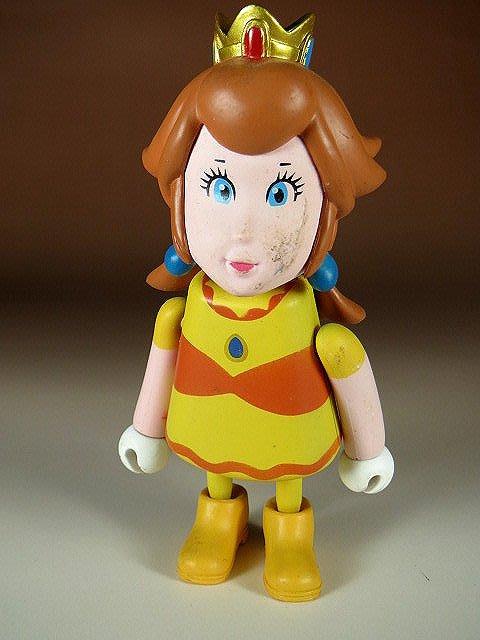 【 金王記拍寶網 】M322 SUPER MARIO 瑪莉歐系列 小木偶 公仔 公主一尊 罕見稀少