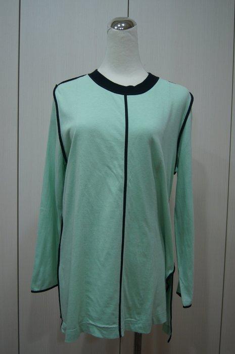 Marni  綠色黑滾邊棉衫    原價   25200    特價 6400