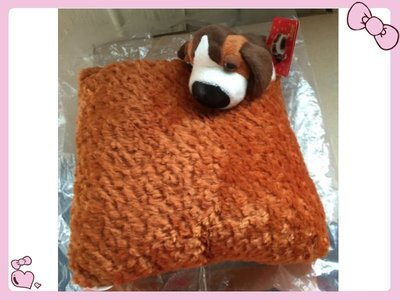 【小逸的髮寶】麥當勞2002年THE DOG米格魯小靠枕