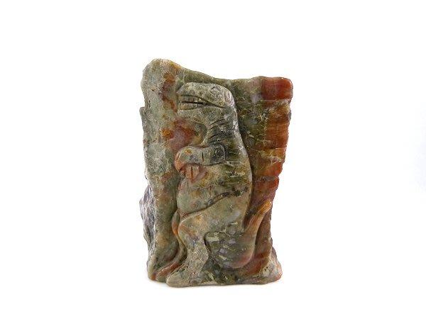 ☆寶峻水晶☆恐龍糞化石 恐龍雕刻擺件 DS-11