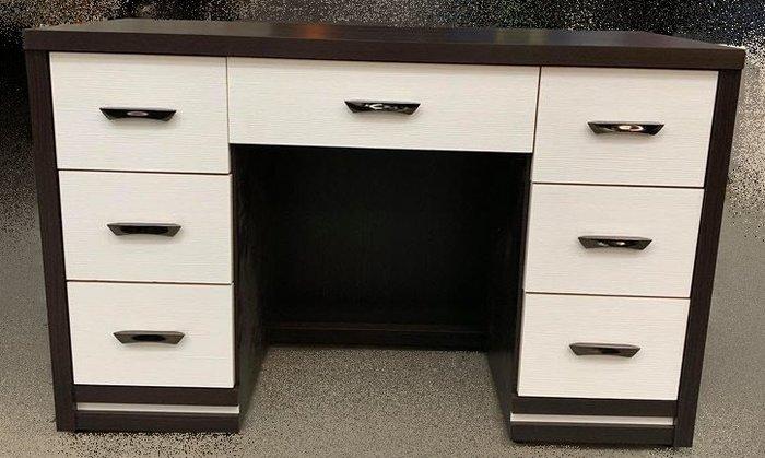 【宏品二手家具館】LC119Bi7 全新7抽書桌 電腦桌 洽談桌 辦公桌 傢俱廣場拍賣客廳桌電視櫃