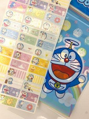 隔日出貨【Doraemon 哆啦A夢】防水貼紙 小叮噹 姓名貼紙 防水 抗刮 耐磨 名字貼 大雄 靜香 貼紙 標籤貼紙