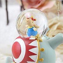 音樂青蛙, JARLL馬戲團系列 大象搖擺水晶球擺飾 可愛小飛象