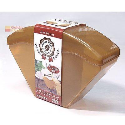 BO雜貨【SV8350】日本製 D-5309 咖啡濾紙收納盒 濾紙專用收納盒 濾紙盒 濾紙收納盒 約可置放濾紙100枚