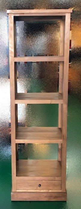 樂居二手家具 HM567HE 一抽4層架 書櫃 書架 書櫥 高底櫃 展示櫃 收納櫃 台北桃園新竹苗栗【全新中古傢俱家電】