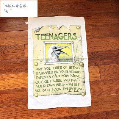 全新現貨 TEENAGERS餐墊布藝餐布西餐餐桌墊復古茶巾美食擺拍道具蓋布