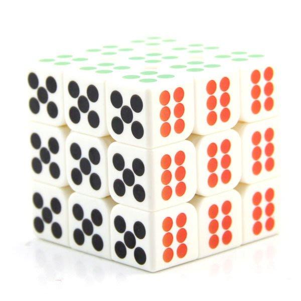 魔方 教室 骰子 3階 造型 益智 魔術 方塊【Miss Sugar】【K4005853】
