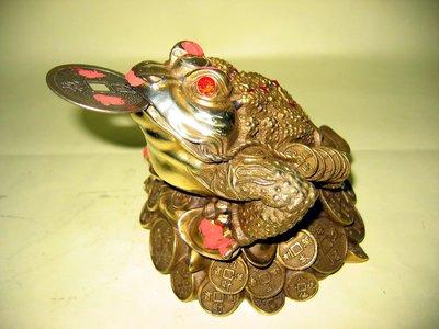 七星銅蟾蜍(大)-已請老師開光點睛加持並附上安置吉課及安置說明