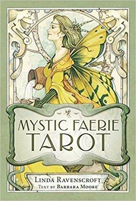 【預馨緣塔羅鋪】現貨正版神秘精靈塔羅牌Mystic Faerie Tarot(全新78張)