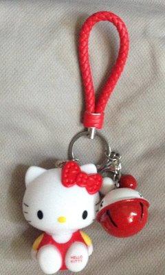 全新鈴鐺kitty吊飾鑰匙圈