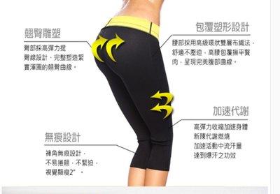男女健美出汗塑身褲 桑拿褲 跑步自發熱  暴汗褲