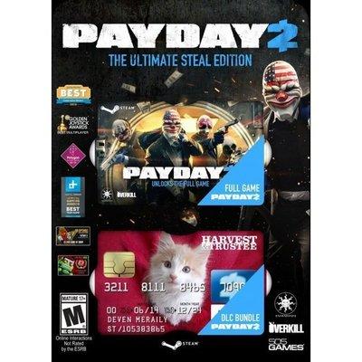 【傳說企業社】PCGAME-PAYDAY 2 The Ultimate Steal Edition 劫薪日2(英文版)