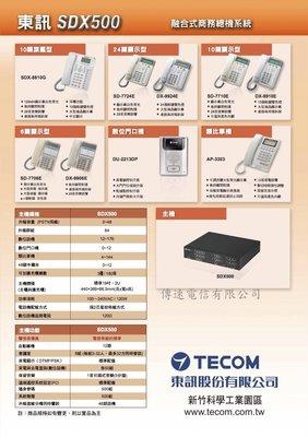 TECOM東訊電話總機SDX500