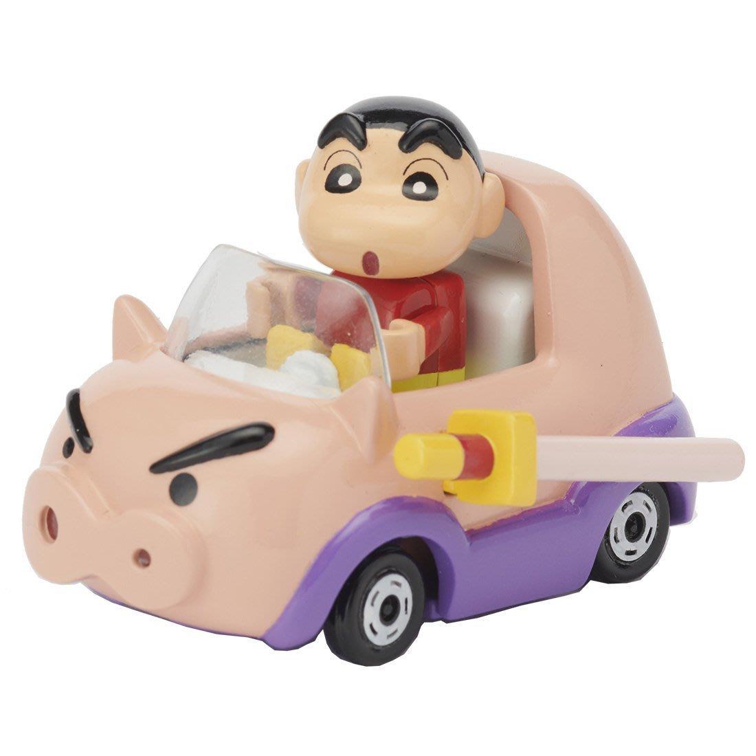 【現貨】日版 蠟筆小新 x 不理不理左衛門 R06 小新可取下 多美小汽車 Tomica