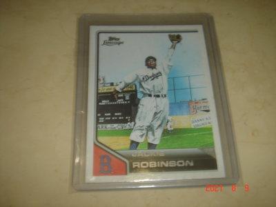 美國職棒 Dodgers Jackie Robinson 2011 Topps Lineage #42 球員卡