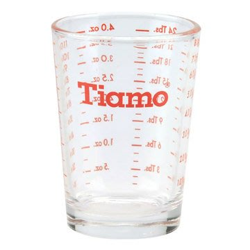 🌟現貨🌟Tiamo 玻璃盎司杯 4oz AC0013 盎司杯 量杯 耐熱玻璃杯 玻璃杯 濃縮咖啡杯 shot 杯