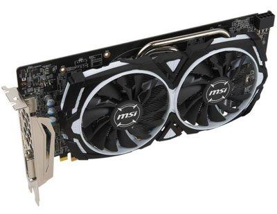 MSI 微星 RX580 8G ARMOR RX-580 效能超越 RX570 GTX 1050 GTX1060
