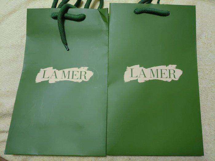 「海洋拉娜」原廠提袋,尺寸約25×15cm,粗繩紙質厚,有2個,可併運