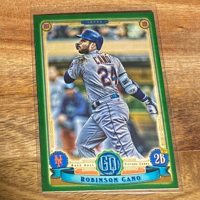 Robinson Cano 2019 Gypsy Queen Green #285 in a series of 320
