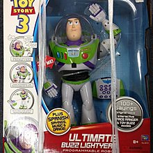 THINKWAY TOYS TOYS STORY 3 ULTIMATE BUZZ LIGHTYEAR 反斗奇兵3 巴斯光年