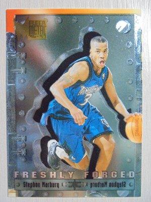 1996-97 Metal Freshly Forged Stephon Marbury 新人年特卡 1:24