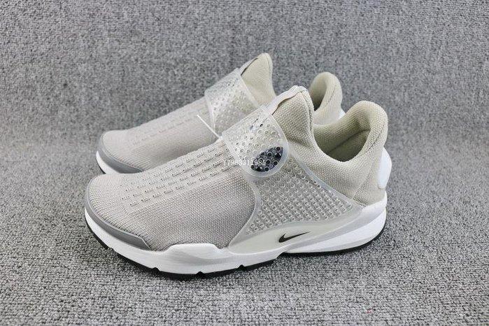 Nike Sock Dart KJCRD 灰白 復古 編織 休閒運動慢跑鞋 男女鞋 819686-002
