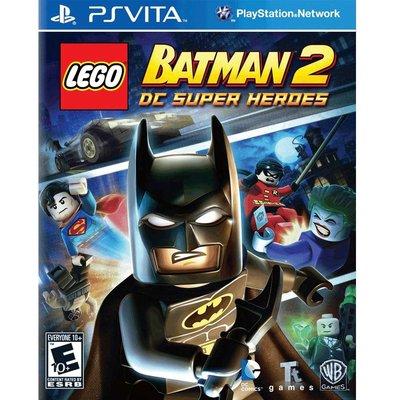 (現貨全新) PSV 樂高蝙蝠俠 2:DC 超級英雄 英文美版 Lego Batman 2