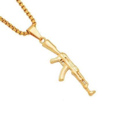 【Result】AK47 金項鍊 gold chain MC Hotdog Tyga愛用款